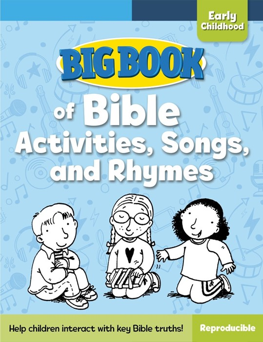 Big Book Of Bible Activities, Songs And Rhymes (Paper Back)