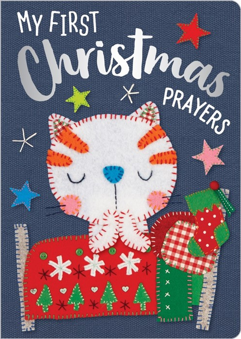 My First Christmas Prayers (Board Book)