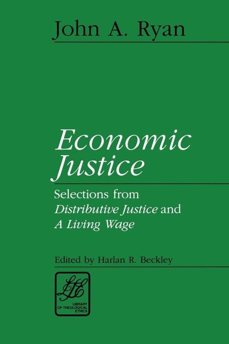 Economic Justice (Paperback)