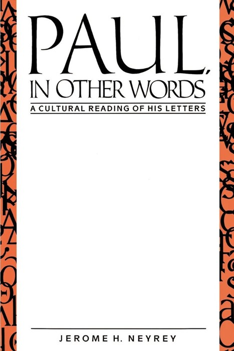 Paul, in Other Words (Paperback)