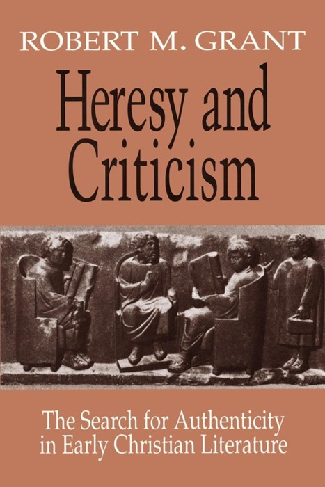 Heresy and Criticism (Paperback)
