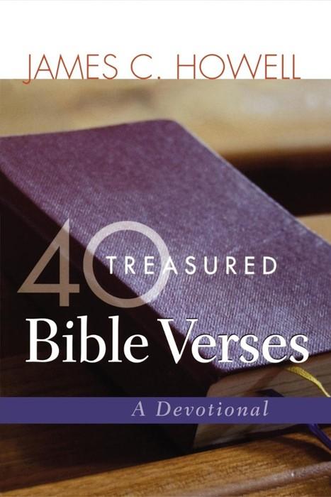 40 Treasured Bible Verses (Paperback)