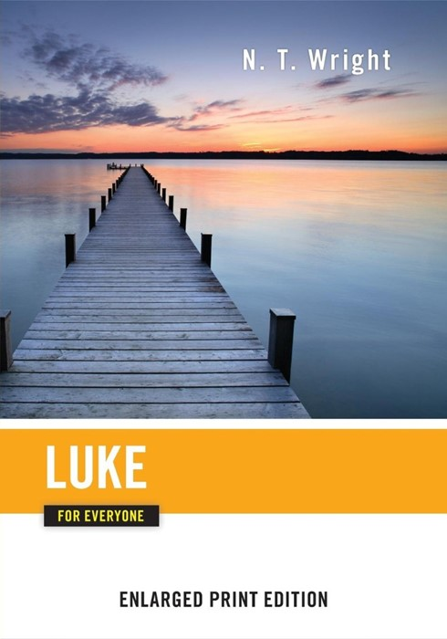 Luke for Everyone (Enlarged Print) (Paperback)