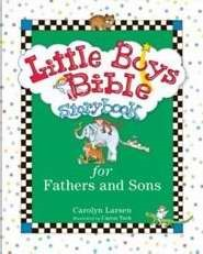 Little Boys Bible Storybook For Fathers And Sons (Hard Cover)