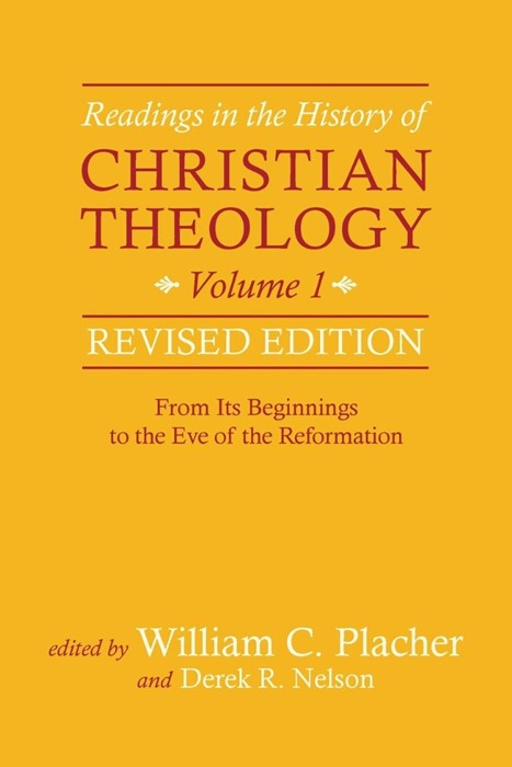 Readings in the History of Christian Theology, Vol 1 (Paperback)