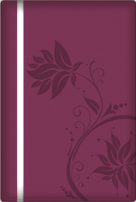 Woman After God's Own Heart Bible, Berry (Imitation Leather)
