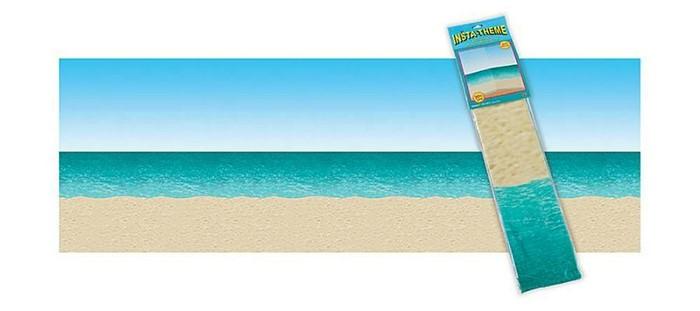 Ocean And Beach Plastic Backdrop (General Merchandise)