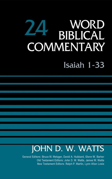 Isaiah 1-33, Volume 24 (Hard Cover)