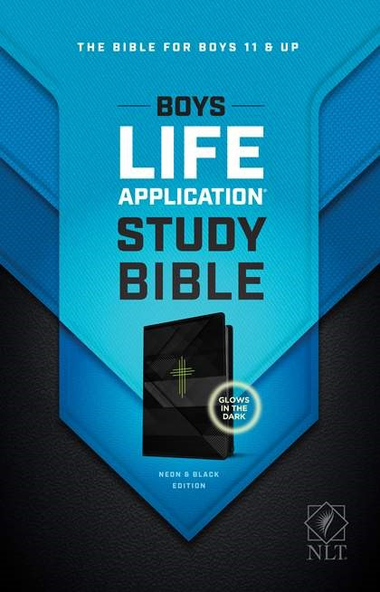 NLT Boys Life Application Study Bible, TuTone (Imitation Leather)