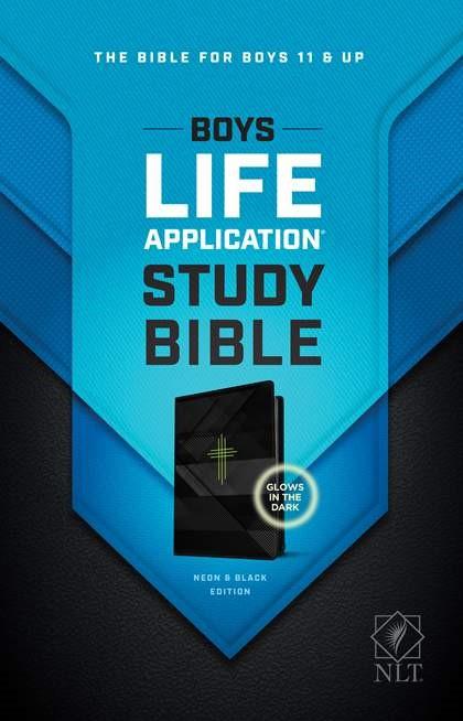 NLT Boys Life Application Study Bible, TuTone