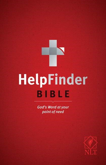 NLT HelpFinder Bible (Hard Cover)