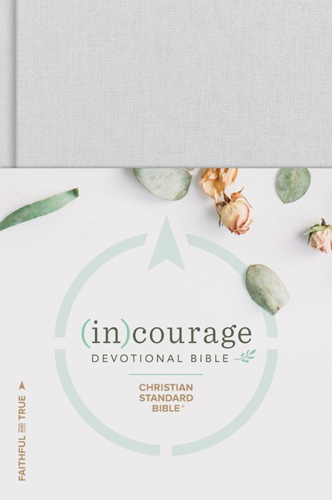 CSB (in)courage Devotional Bible, Hardcover (Hard Cover)