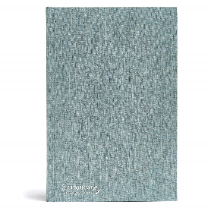 CSB (in)courage Devotional Bible, Cloth Over Board (Hard Cover)