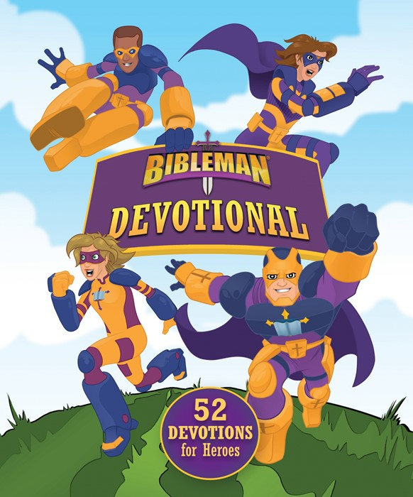 Bibleman Devotional (Hard Cover)
