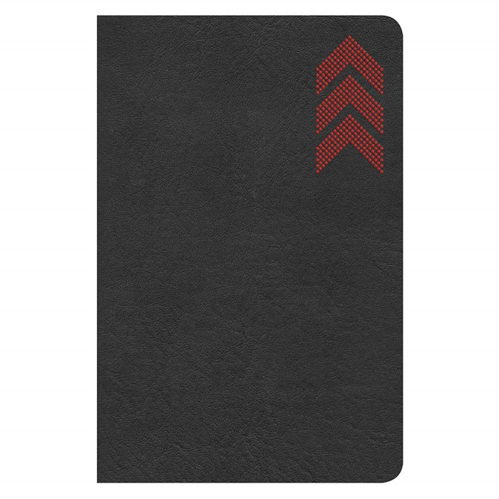 CSB On-the-Go Bible, Charcoal (Imitation Leather)