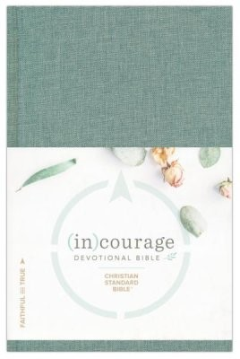 CSB (in)courage Devotional Bible, Cloth Over Board Indexed (Hard Cover)