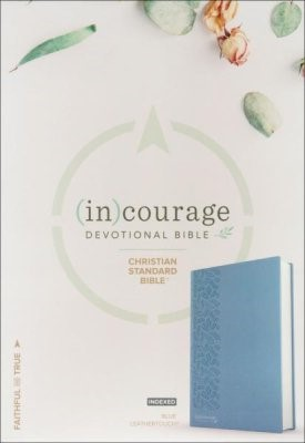 CSB (in)courage Devotional Bible, LeatherTouch Indexed (Imitation Leather)