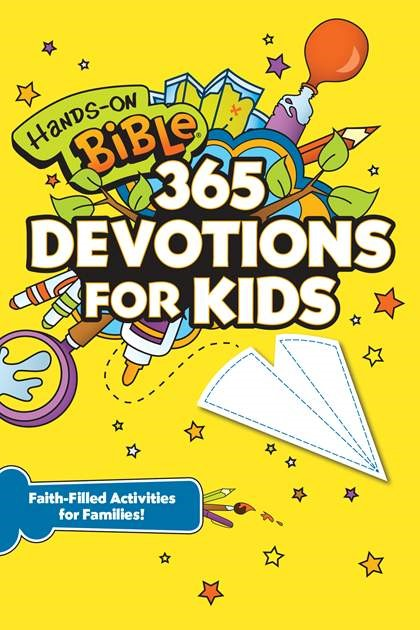 Hands-On Bible 365 Devotions for Kids (Paperback)