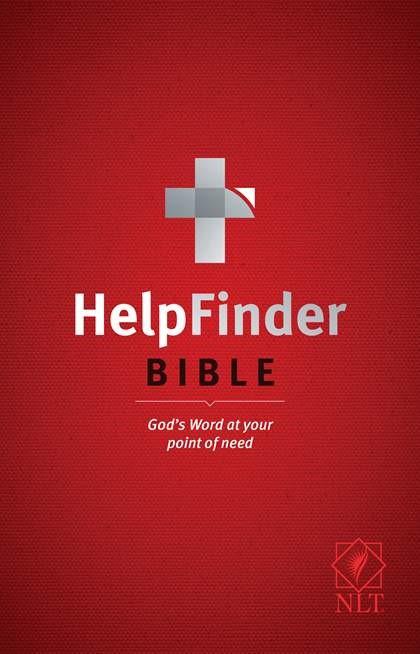 NLT HelpFinder Bible (Paperback)