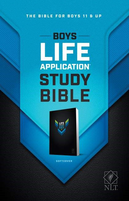 NLT Boys Life Application Study Bible (Paperback)