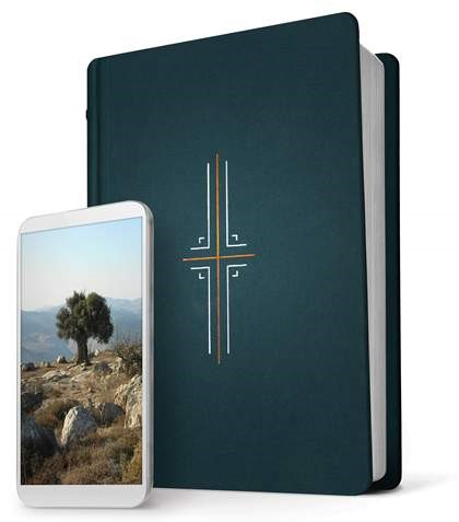 NLT Filament Bible, Midnight Blue (Hard Cover)