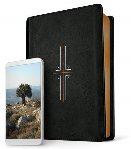 NLT Filament Bible, Black (Imitation Leather)