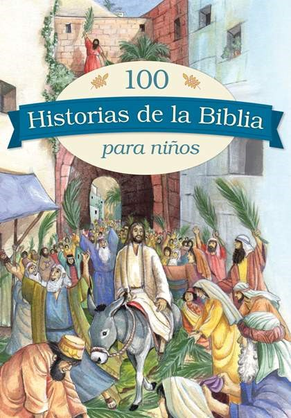 100 historias de la Biblia para niños (Hard Cover)
