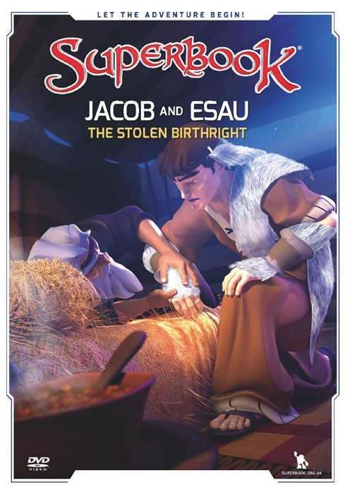 Superbook: Jacob And Esau DVD (DVD)