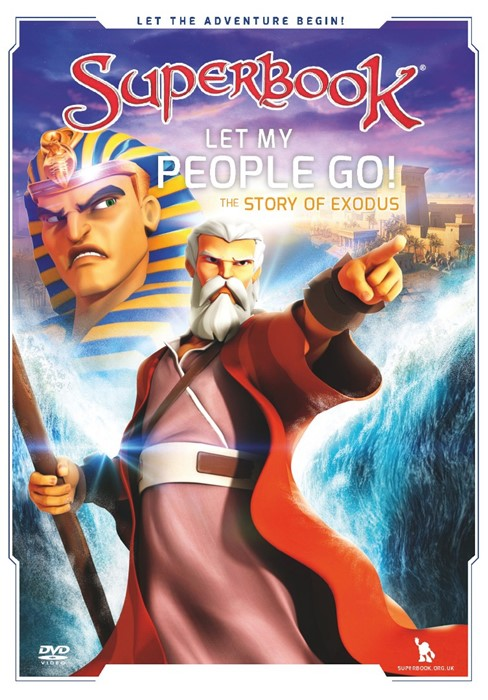Superbook: Let My People Go! DVD (DVD)