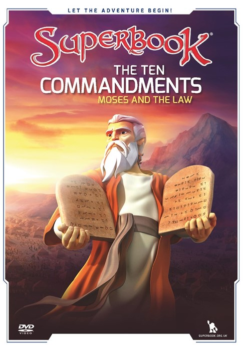 Superbook: The Ten Commandments DVD (DVD)