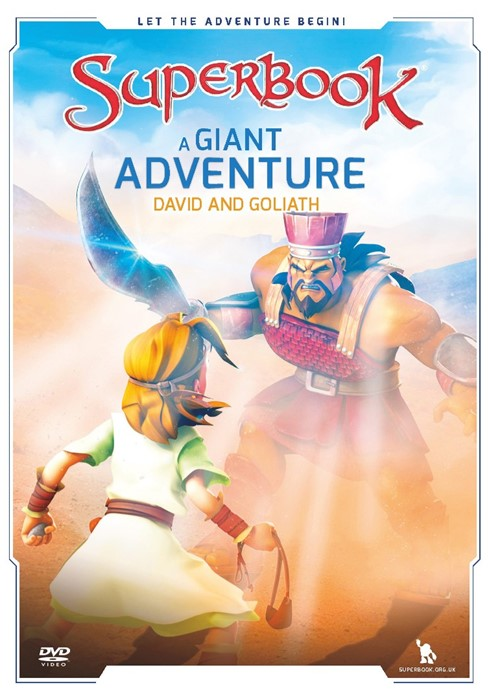 Superbook: A Giant Adventure DVD (DVD)