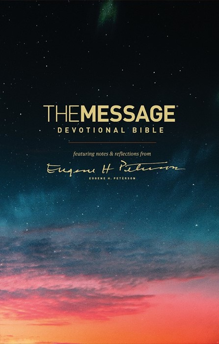 The Message Devotional Bible (Hard Cover)