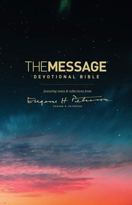 The Message Devotional Bible (Paperback)