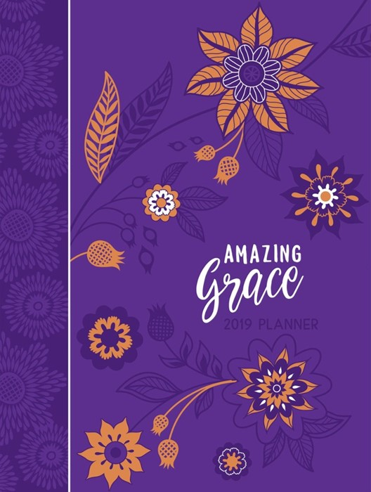 Amazing Grace 16-Month Weekly Planner 2019