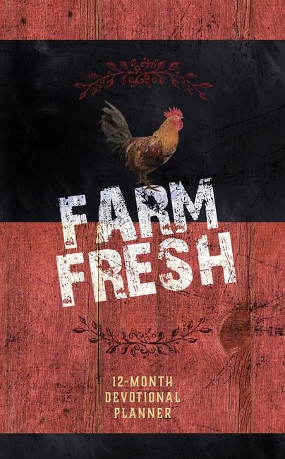 Farm Fresh 12-Month Devotional Planner 2019