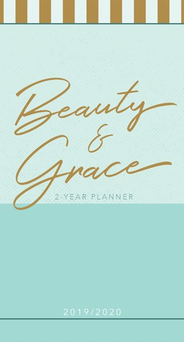 2019/2020 Two Year Pocket Planner Beauty And Grace (Paperback)