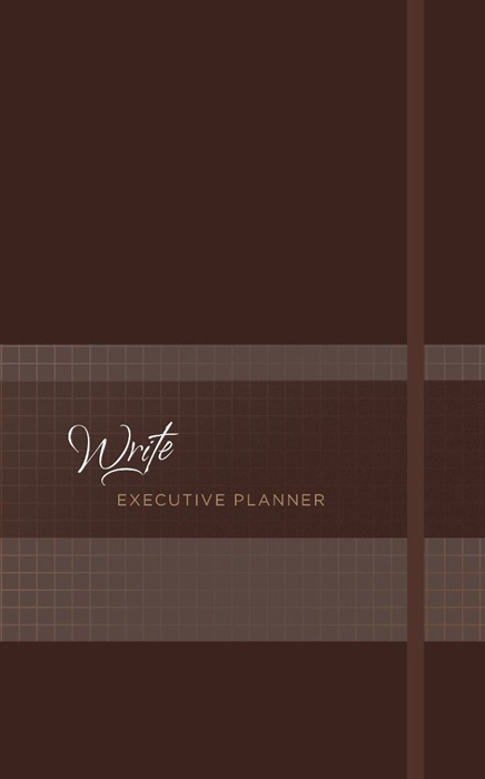 2019 16-Month Weekly Planner: Write Executive Nutmeg (Imitation Leather)
