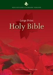 NRSV Large-Print Text Bible, NR690:T (Hard Cover)