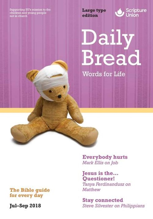 Daily Bread Large Print July-September 2018 (Paper Back)