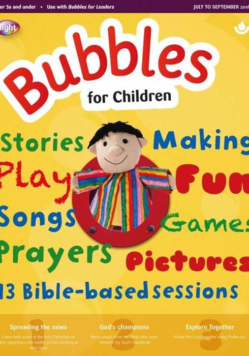 Bubbles For Children July-September 2018 (Paper Back)