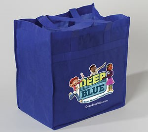 Deep Blue Tote Bag (General Merchandise)