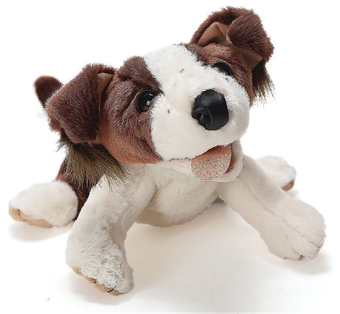 Deep Blue Indigo Dog Puppet (General Merchandise)