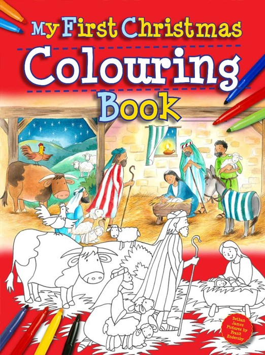 My First Christmas Colouring Book (Paperback)