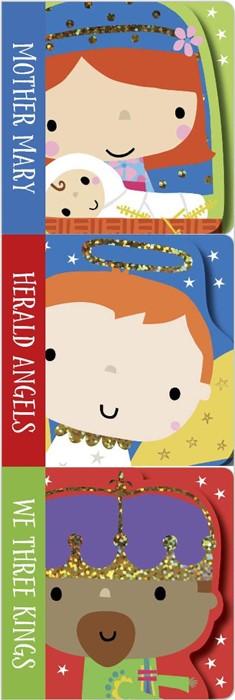 Nativity Mini Board Book Stack (Set of 3) (Board Book)