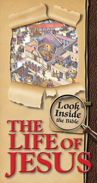 Look Inside The Bible - The Life Of Jesus (Hard Cover)