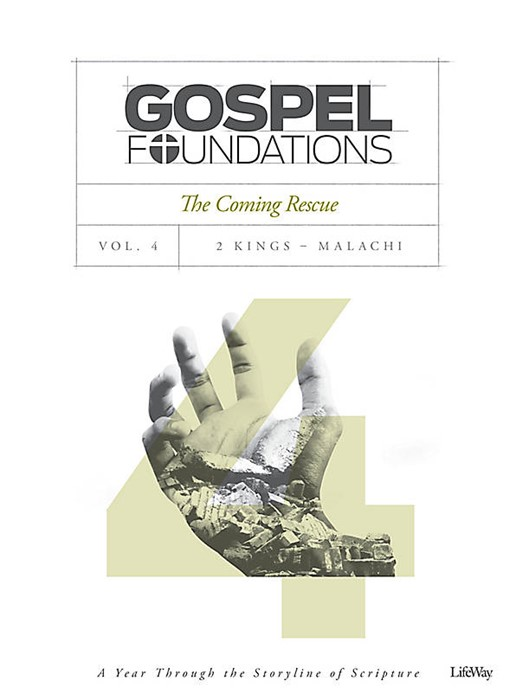 Gospel Foundations Volume 4 Bible Study Book (Paper Back)