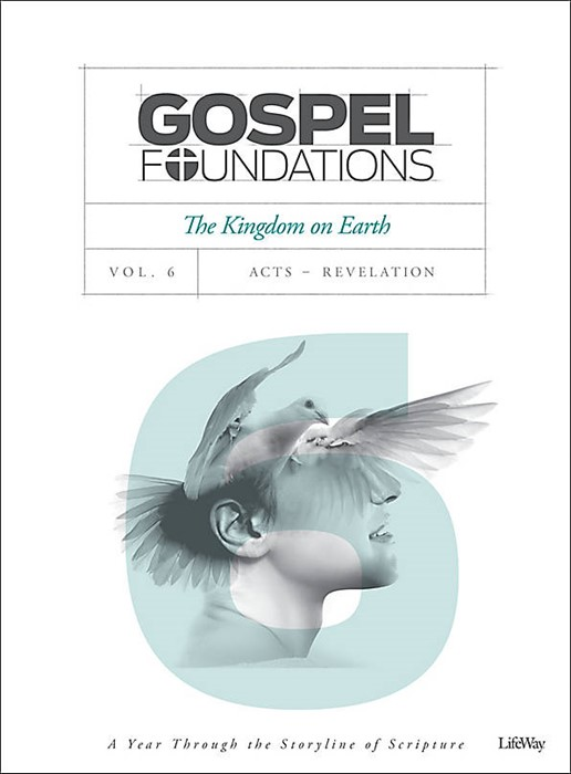 Gospel Foundations Volume 6 Bible Study Book (Paper Back)