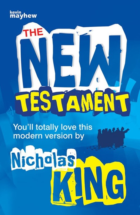 The New Testament Teenage Blue Cover (Paperback)