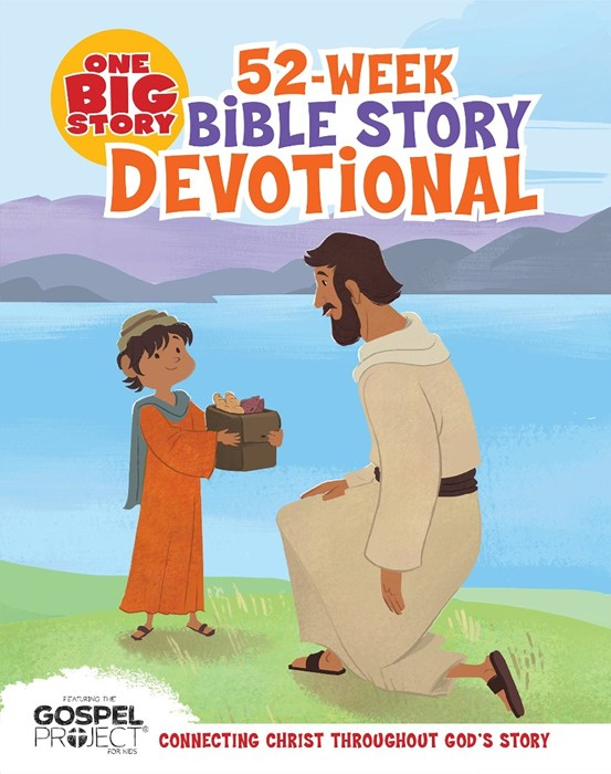 One Big Story 52-Week Bible Story Devotional (Hard Cover)
