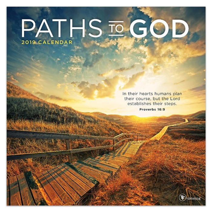 2019 Paths To God Wall Calendar (Calendar)